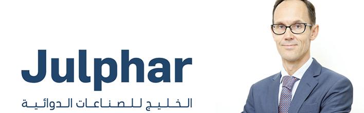 UAE's Julphar names Laurent de Chazeaux as acting CFO